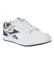 Vostro White Navy Grey Casual Shoes for Men - VSS0162